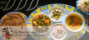 Aloo Matter Sabzi, Dal ,Raita, Rice ,Butter Roti With Vermicelli kheer. -  - Homely - By Prachi Mishra