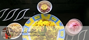 Batata Poha, Farsan, Onion & Lemon & Strawberry Milk Shake -  - Homely - By Prachi Mishra