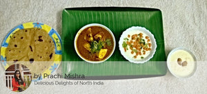 Alu Paneer sabzi, Raita, Roti with Kheer -  - Homely - By Prachi Mishra