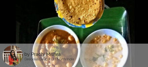 Chhole, Raita , Butter Roti (4nos) / Puree (6nos) with Dessert -  - Homely - By Prachi Mishra