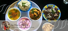 Aloo Gobi mutter ki Sabji, Dal, Jeera Rice, Fried Brinjal, Raita, Paratha and Dessert - Fruit Custard -  - Homely - By Prachi Mishra - 1
