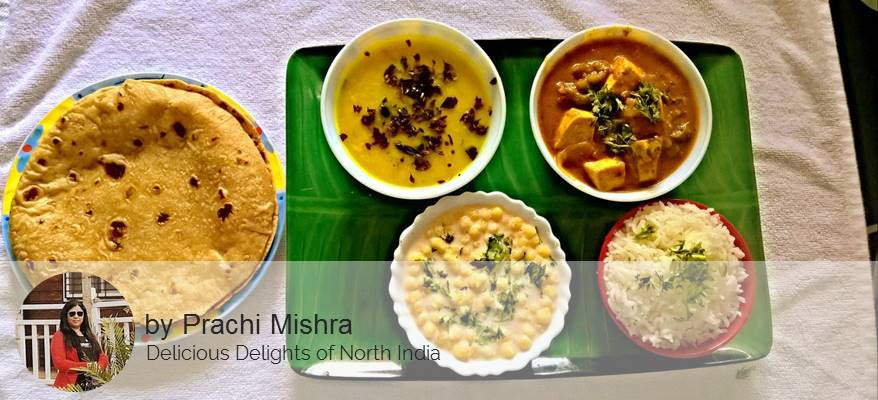 Paneer Butter Masala, Dal, Rice, Raita, Butter Roti With Sweet -  - Homely - By Prachi Mishra