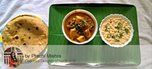 Paneer Butter Masala, Raita with Thin Chapattis (4) -  - Homely - By Prachi Mishra