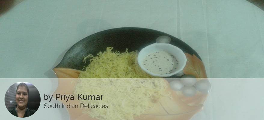 Lemon Rice, with kacha kela bhaji -  - Homely - By Priya Ashok Kumar