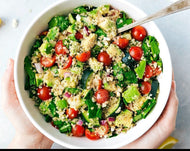 Homely Greens : Quinoa Salad