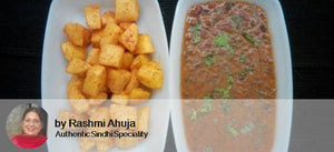 Dal Makhani, Aloo Masala Fry, Steamed Rice, With Ghee Rotis(4 Nos ) -  - Homely - By Rashmi Ahuja - 2