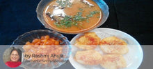Sindhi Curry Basenwali,  Aloo Tuk, Steamed Rice,  Ghee Rotis (4),  Sweet Boondi -  - Homely - By Rashmi Ahuja - 2