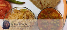 Aloo Matar with Paratha and Veg Pulao -  - Homely - By Rekha Singla - 1