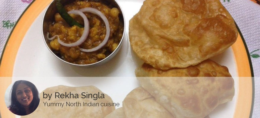 Punjabi Chole with Puri (5) -  - Homely - By Rekha Singla