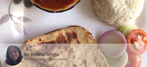 Rajma with Paratha (4nos) and Curd -  - Homely - By Rekha Singla - 2