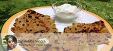 Aloo Pyaz and Matar ka Paratha (3) with Curd -  - Homely - By Rekha Singla - 2