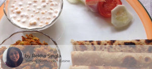 Gobhi Matar Kheema with Boondi Raita And Paratha (4nos) -  - Homely - By Rekha Singla