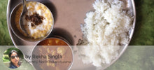 Aloo soyabean ki rasedar sabji with rice roti and boondi ka raita -  - Homely - By Rekha Singla - 2