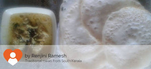 Appams with Fish (Indian Mackerel) Molee -  - Homely - By Rengini Ramesh - 1