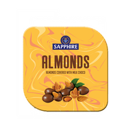 Sapphire Almonds covereed with milk choco 90g  (Pack of 2) - By The Gift Tree