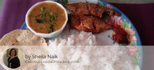 Bangda Fish Fry with Rice, Dal, Roasted Papad and Pickle -  - Homely - By Sheila Naik - 1