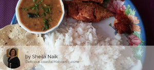 Bangda Fish Fry with Rice, Dal, Roasted Papad and Pickle -  - Homely - By Sheila Naik - 3