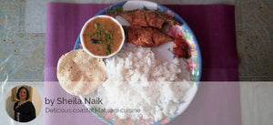 Bangda Fish Fry with Rice, Dal, Roasted Papad and Pickle -  - Homely - By Sheila Naik - 2