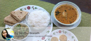 Bangda Fish Curry, Egg Bhurji, Starter, Chapatis & Steamed Rice -  - Homely - By Sindhu Brarath - 2