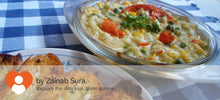 Baked veg with pasta & cheese alongwith Garlic bread -  - Homely - By Zainab Sura - 3