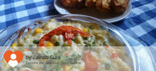 Baked veg with pasta & cheese alongwith Garlic bread -  - Homely - By Zainab Sura - 2