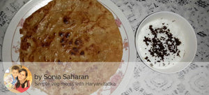 Aloo Parathas with Curd ( 3 Parathas) -  - Homely - By Sonia Saharan - 1