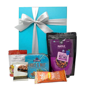 Chocolates & Trail Mix Gift Hamper - By The Gift Tree
