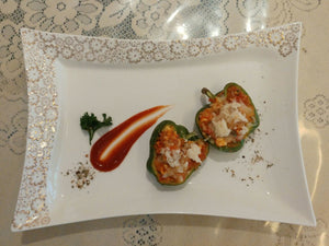 Stuffed Capsicum - Italian Style (3 pieces)
