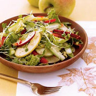 Homely Greens: Asian Apple Slaw