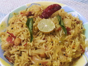 Lemon Rice with Curd