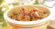 Homely Greens: BBQ Potato Salad