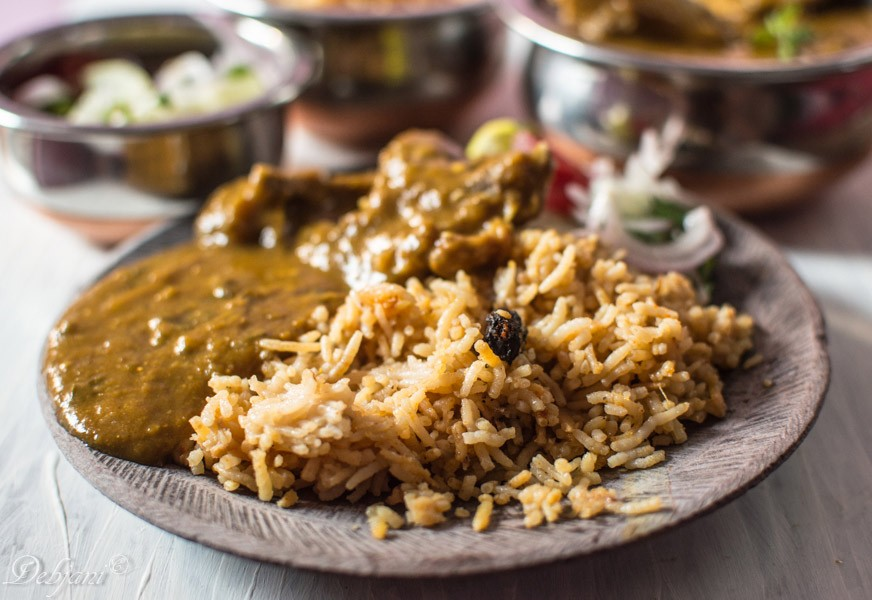 Chicken Pulao Dal