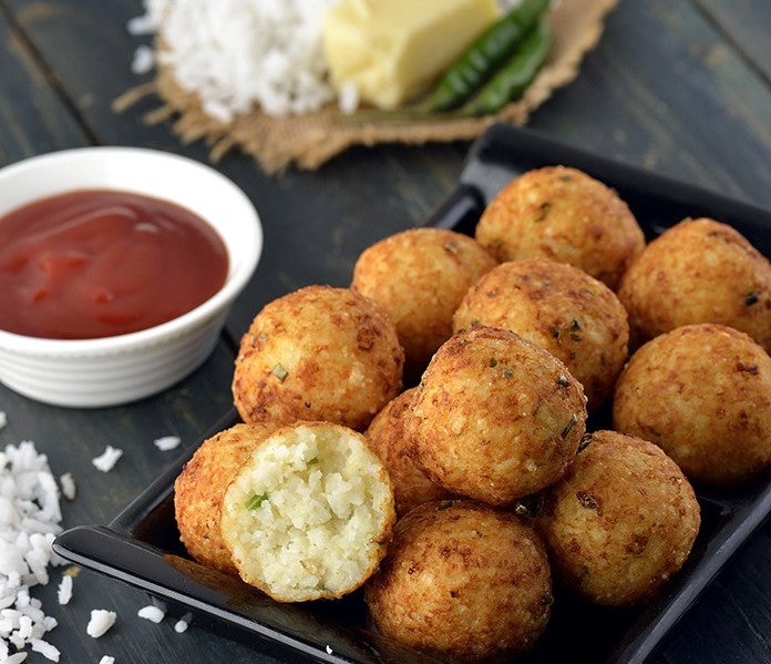 Rice and cheese Balls
