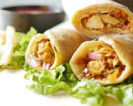 Mutton Galawati Roll
