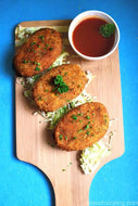 Cottage cheese Tikkis (6 pc)