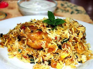 Chicken Biryani -  - Homely - By Suunil G Murudkar