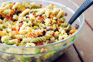 Homely Greens: Mexican Pasta Salad