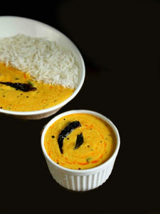 Homely Mini Treat: Kadhi Pakoda with Rice Bowl