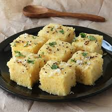 Khaman Dhokla with Chutney