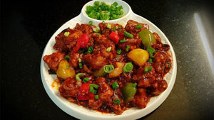 Homely Mini Treat: Schezwan Grill Chicken with Veggies & Sprouts