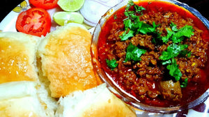 Homely Mini Treat: Mutton Kheema with Pav