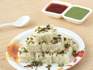 Rava Dhokla (plate of 12 pc)