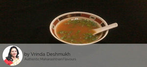 Baked veggies & Pasta in white sauce, Tomato coriander soup with Apple cup cake -  - Homely - By Vrinda Deshmukh - 2