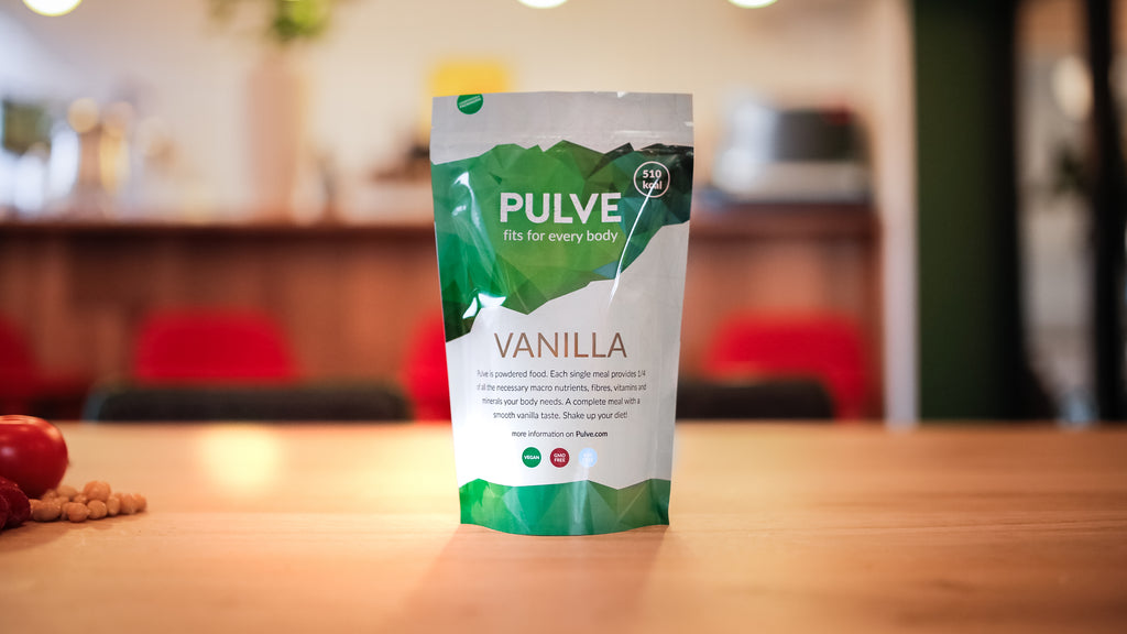 We are presenting our game changing biodegradable single meal! Pulve 2.0