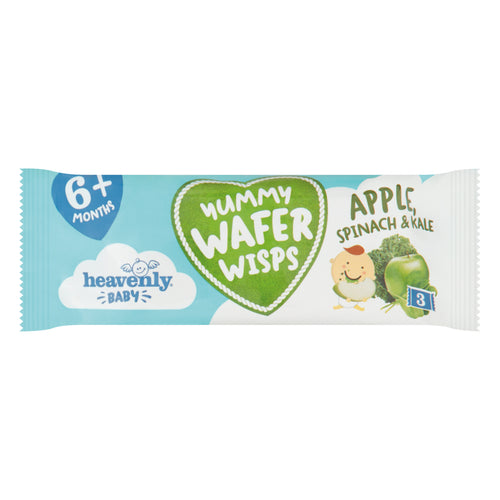 Heavenly Baby, Yummy Wafer Wisps, Teething Wafers, Healthy Baby Snacks