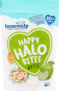 Happy Halo Bites Apple 60g (Pack of 4)