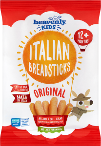 Heavenly Kids, Italian Breadsticks, Original, 30g