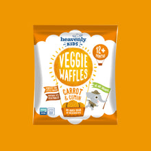 Load image into Gallery viewer, Veggie Waffles, Carrot & Cumin