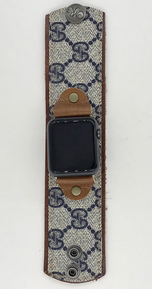 Upcycled Gucci Apple Watch Band - Medium