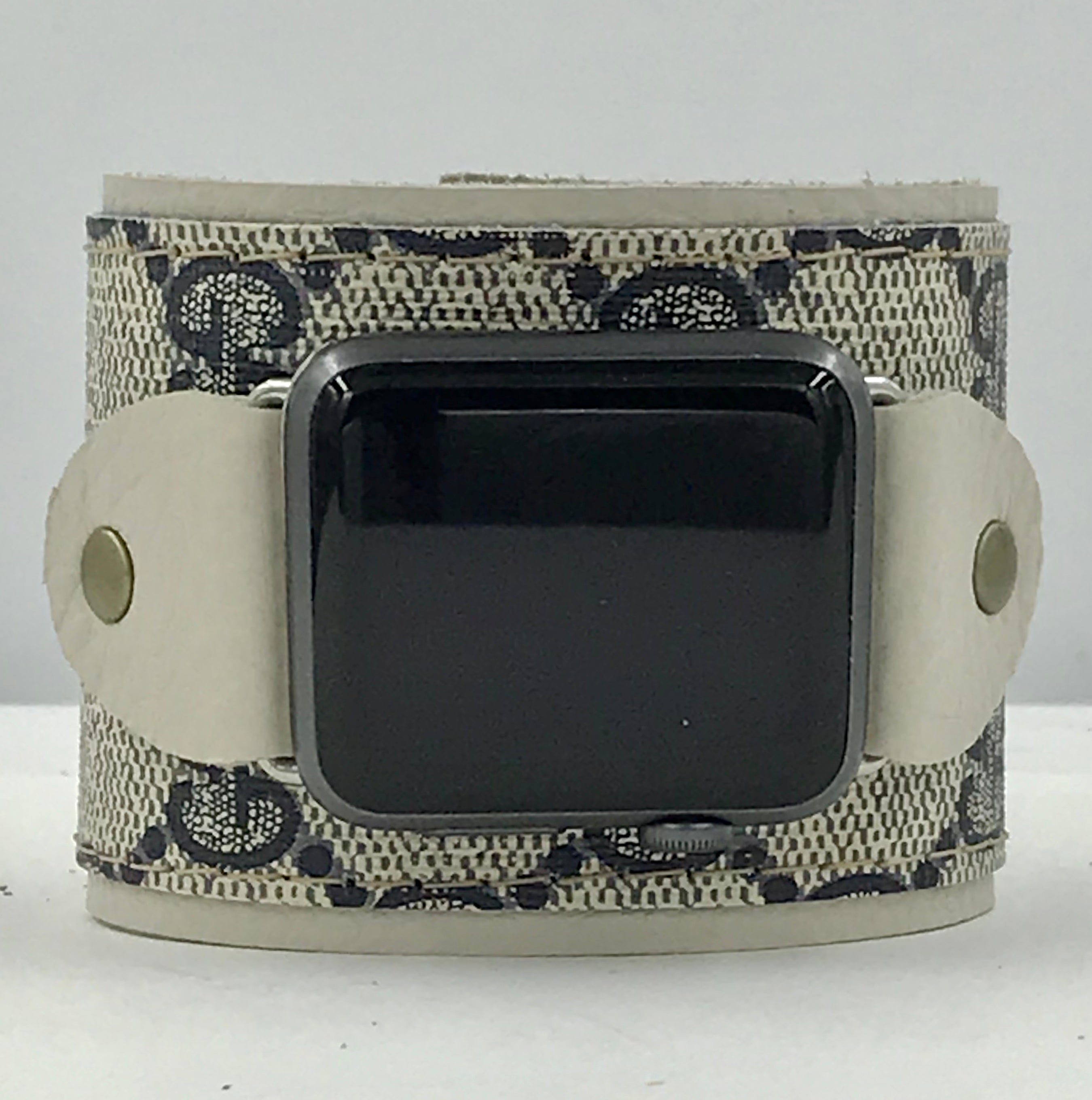 Upcycled Gucci Apple Watch Band - Large